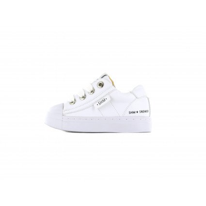 Shoesme witte lage sneakers